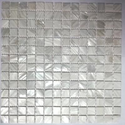 Madreperla Muschel Shell Perlmutt Mosaikfliesen Gold Silber