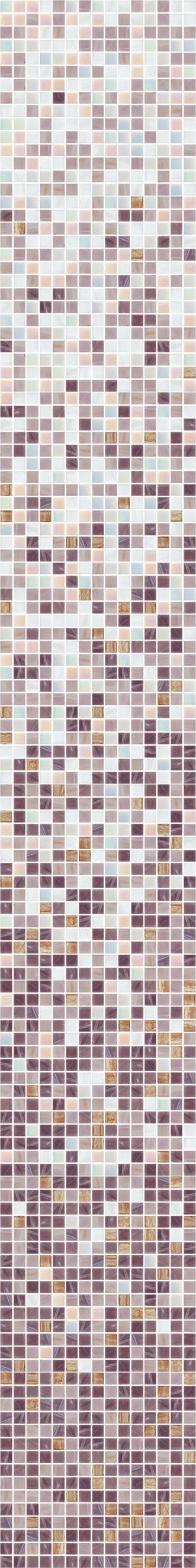 Gradiente Glas Mosaikfliesen Lila Rosa Weißgrau GoldSilber - Rosa mosaik fliesen
